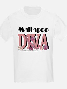 Maltapoo Diva T-Shirt