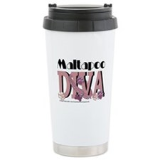 Maltapoo Diva Travel Mug