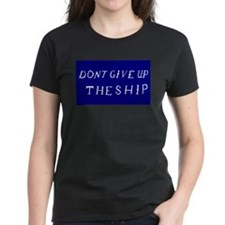 Don't Give Up The Ship Flag Tee