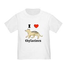 I Love Thylacines T
