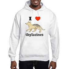 I Love Thylacines Hoodie