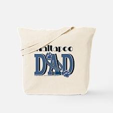 Maltapoo DAD Tote Bag