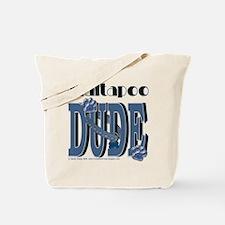 Maltapoo DUDE Tote Bag