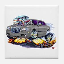 Chrysler 300 Silver/Grey Car Tile Coaster