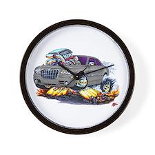 Chrysler 300 Silver/Grey Car Wall Clock