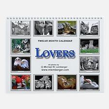 Lovers Wall Calendar