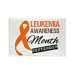 Leukemia Awareness Month v6 Rectangle Magnet