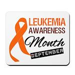 Leukemia Awareness Month v6 Mousepad