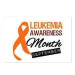 Leukemia Awareness Month v6 Postcards (Package of