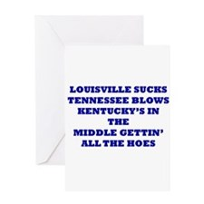 Unique Sports tennessee Greeting Card