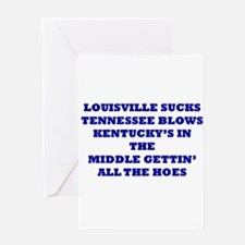 Unique Louisville cardinals Greeting Card
