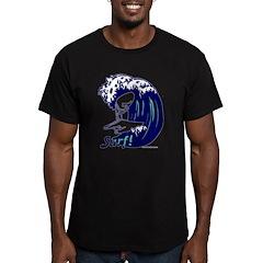 Surf! Men's Fitted T-Shirt (dark)