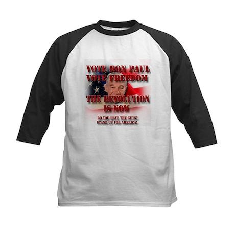 Ron Paul for 2012 Kids Baseball Jersey
