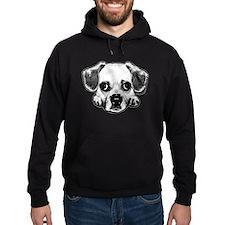 Black & Black Puggle Hoodie