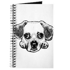 Black & White Puggle Journal