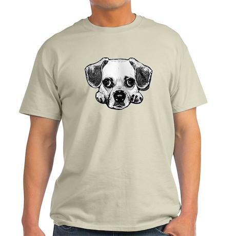 Black & White Puggle Light T-Shirt