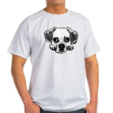 Black & White Puggle T-Shirt