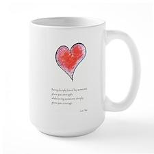 Love Deeply Ceramic Mugs