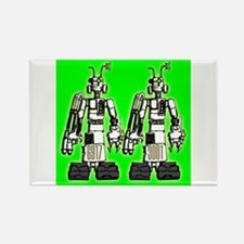 Robots Rectangle Magnet