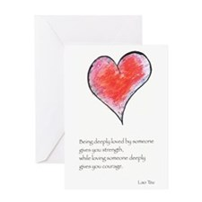 Love Deeply Greeting Card