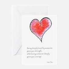 Love Deeply Greeting Card
