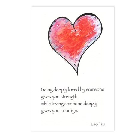 Love Deeply Postcards (Package of 8)
