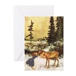 Holiday Art Card Greeting Cards (Pk of 20)