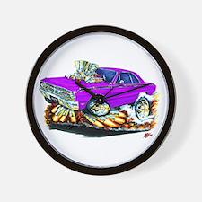 Dodge Dart Purple Car Wall Clock