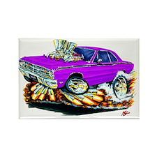 Dodge Dart Purple Car Rectangle Magnet