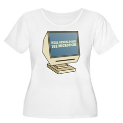 Use Microfiche T-Shirt