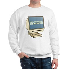 Use Microfiche Sweatshirt