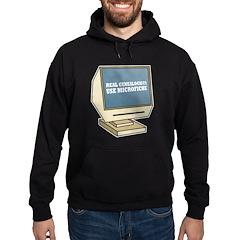 Use Microfiche Hoodie