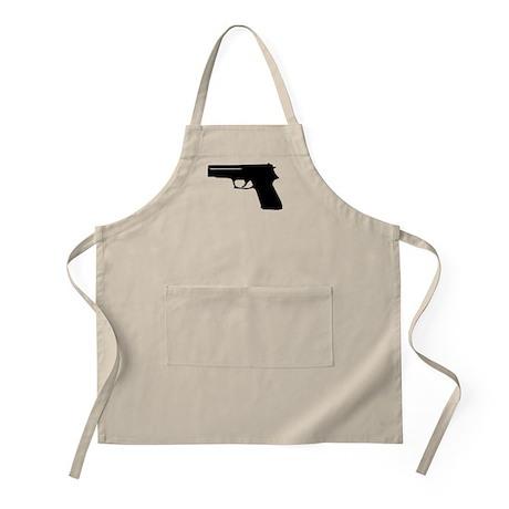 Gun BBQ Apron