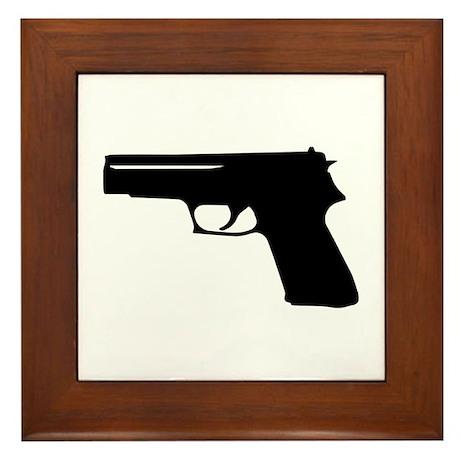 Gun Framed Tile