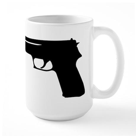 Gun Large Mug