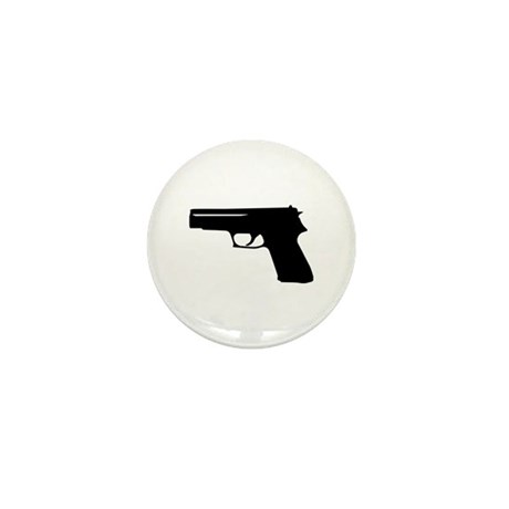 Gun Mini Button (10 pack)