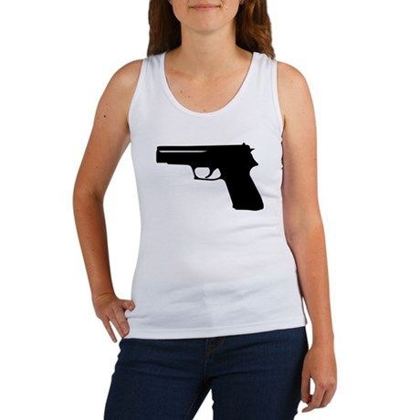 Gun Women's Tank Top