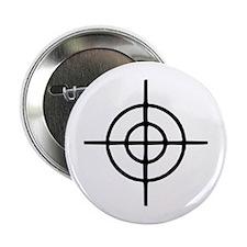 """Crosshairs - Gun 2.25"""" Button"""