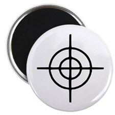 "Crosshairs - Gun 2.25"" Magnet (100 pack)"