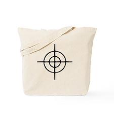 Crosshairs - Gun Tote Bag