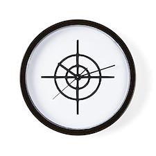 Crosshairs - Gun Wall Clock