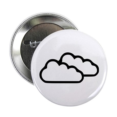 "Clouds - Weather 2.25"" Button"