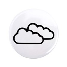 """Clouds - Weather 3.5"""" Button"""