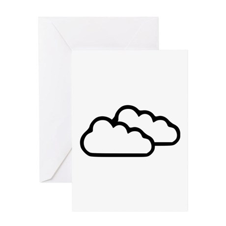 Clouds - Weather Greeting Card