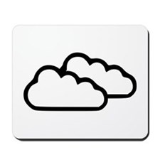 Clouds - Weather Mousepad