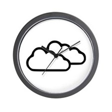 Clouds - Weather Wall Clock