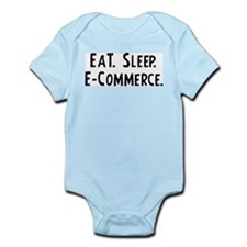 Eat, Sleep, E-Commerce Infant Creeper