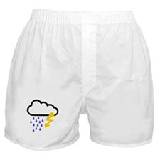 Thunderstorm - Weather Boxer Shorts
