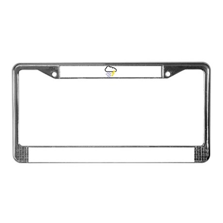 Thunderstorm - Weather License Plate Frame