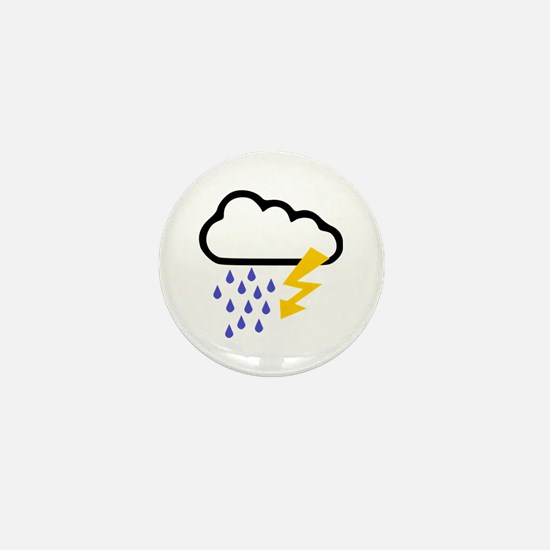 Thunderstorm - Weather Mini Button